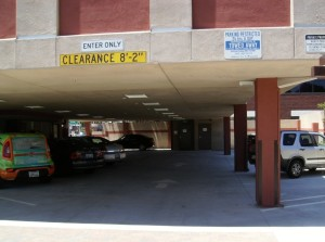 Medical building parking