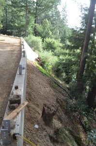 Slope instability prevention