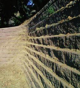 geogrid retaining wall design services - Segmental Retaining Wall Design