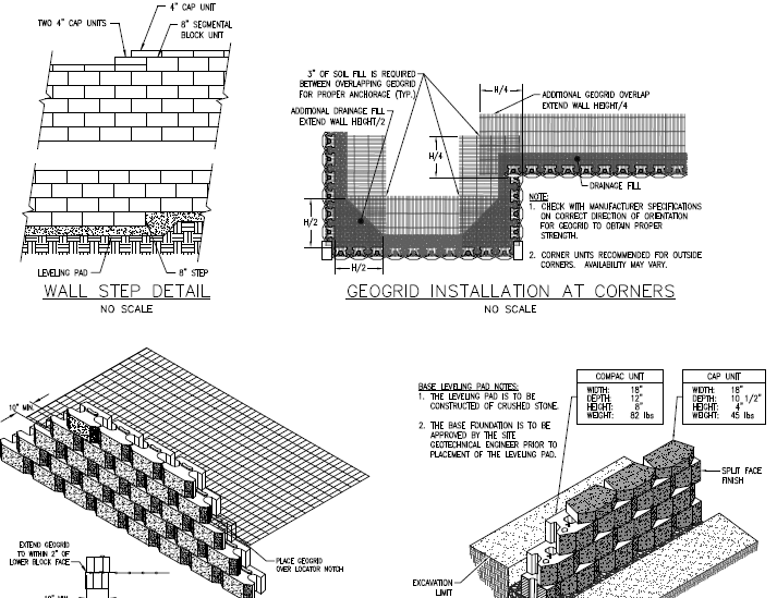 Free It Takes Us About Weeks To Prepare The And The Plans With Segmental  Retaining Wall Design.